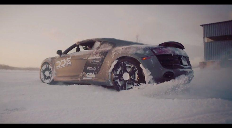 Derrapes sobre nieve