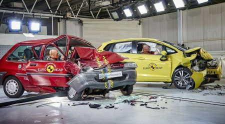 20 años de pruebas Euro NCAP: esto pasaba en un accidente en 1997