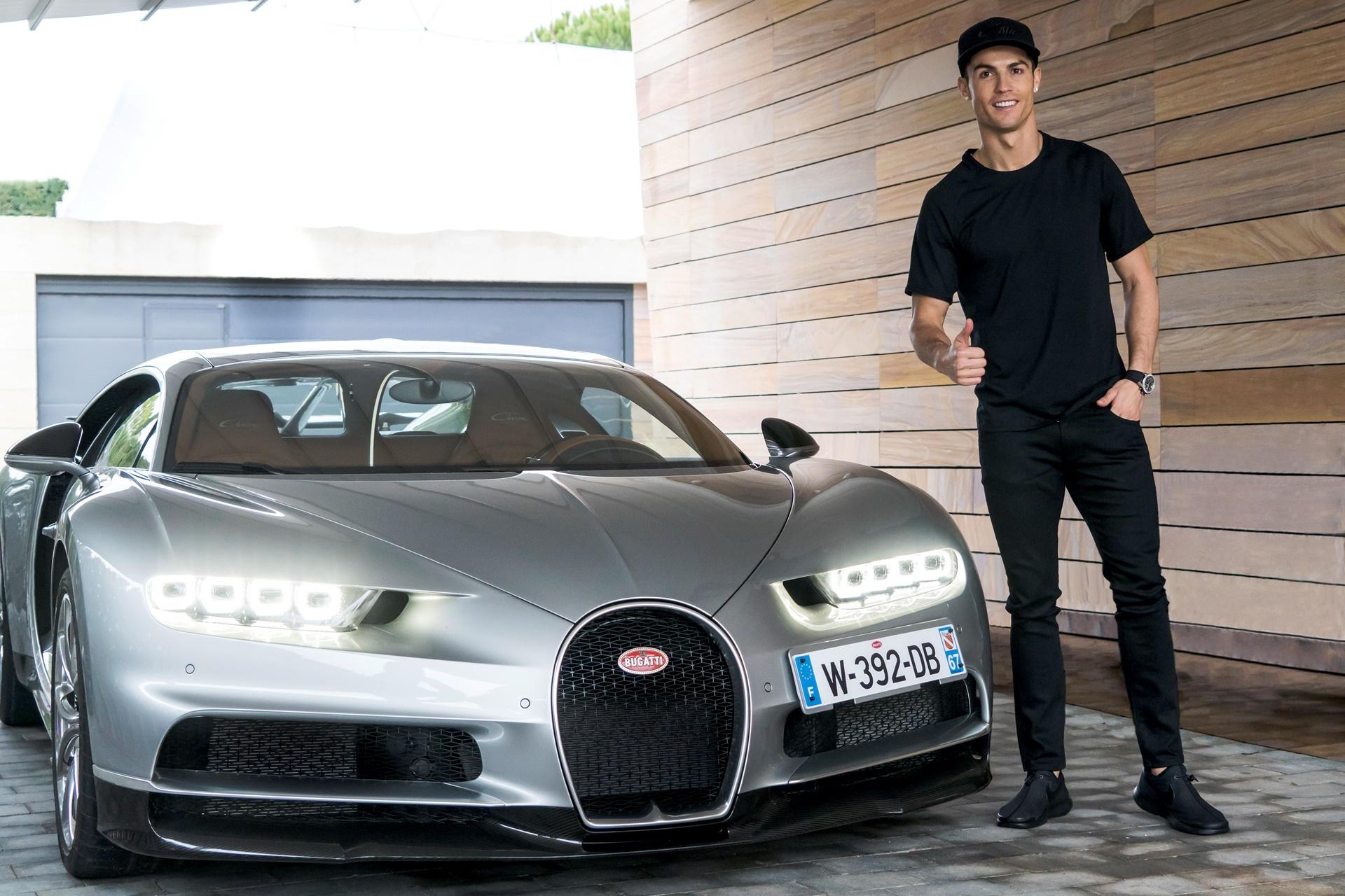 Así es el Bugatti Chiron que ya conduce Cristiano Ronaldo