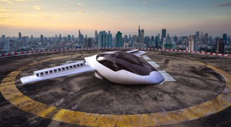 Los 9 coches voladores que verás en el aire en una década