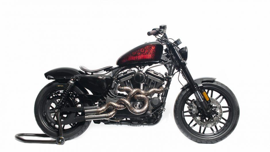 Imagenes De Motos Harley: La Mejor Harley-Davison Personalizada Es Portuguesa