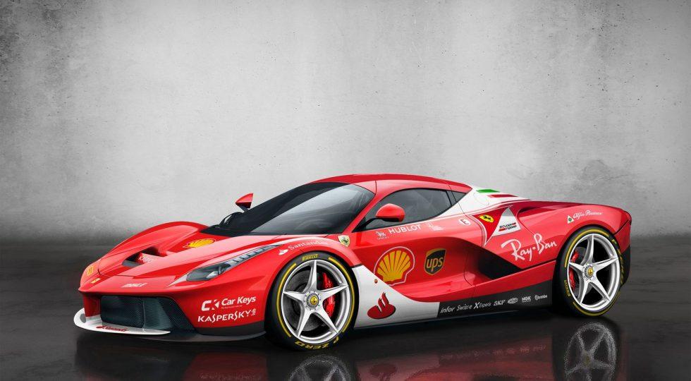 Ferrari SF70H Ferrari LaFerrari