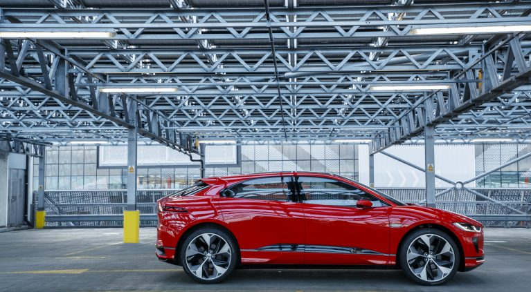 Jaguar I-Pace Concept Salón de Ginebra