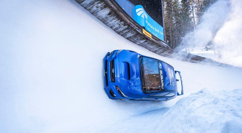 Subaru WRX STI bobsleigh
