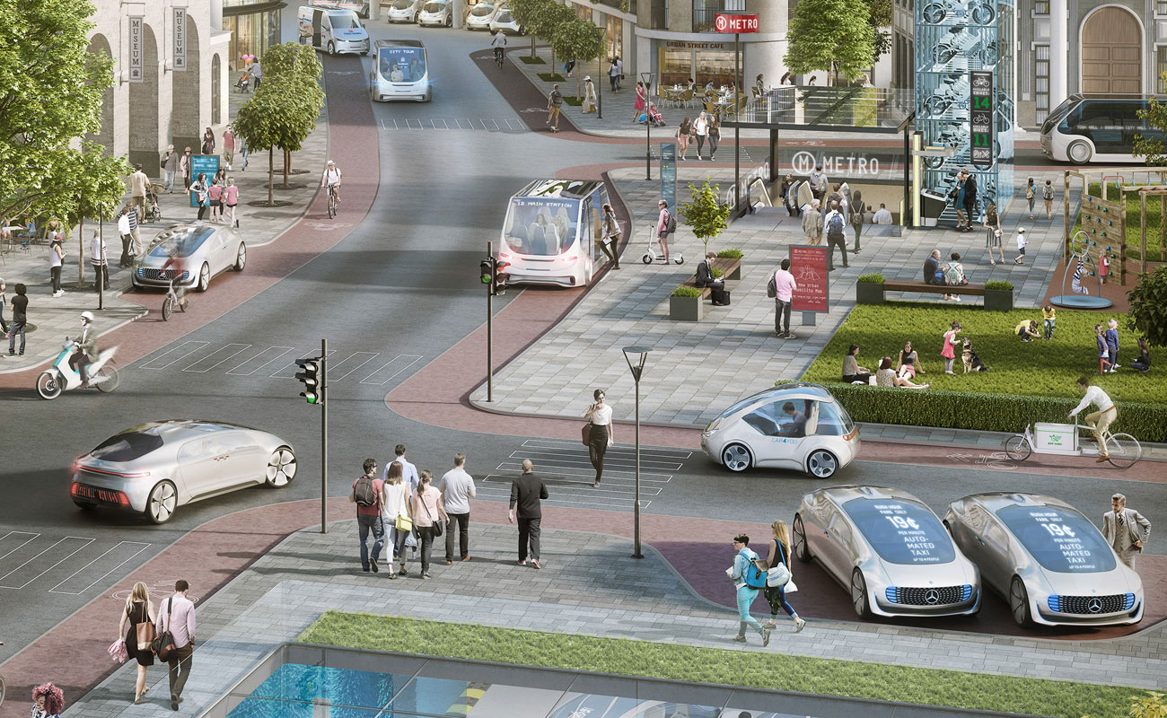 Aunque parezca mentira, así conducirás en 2030 (más o menos)