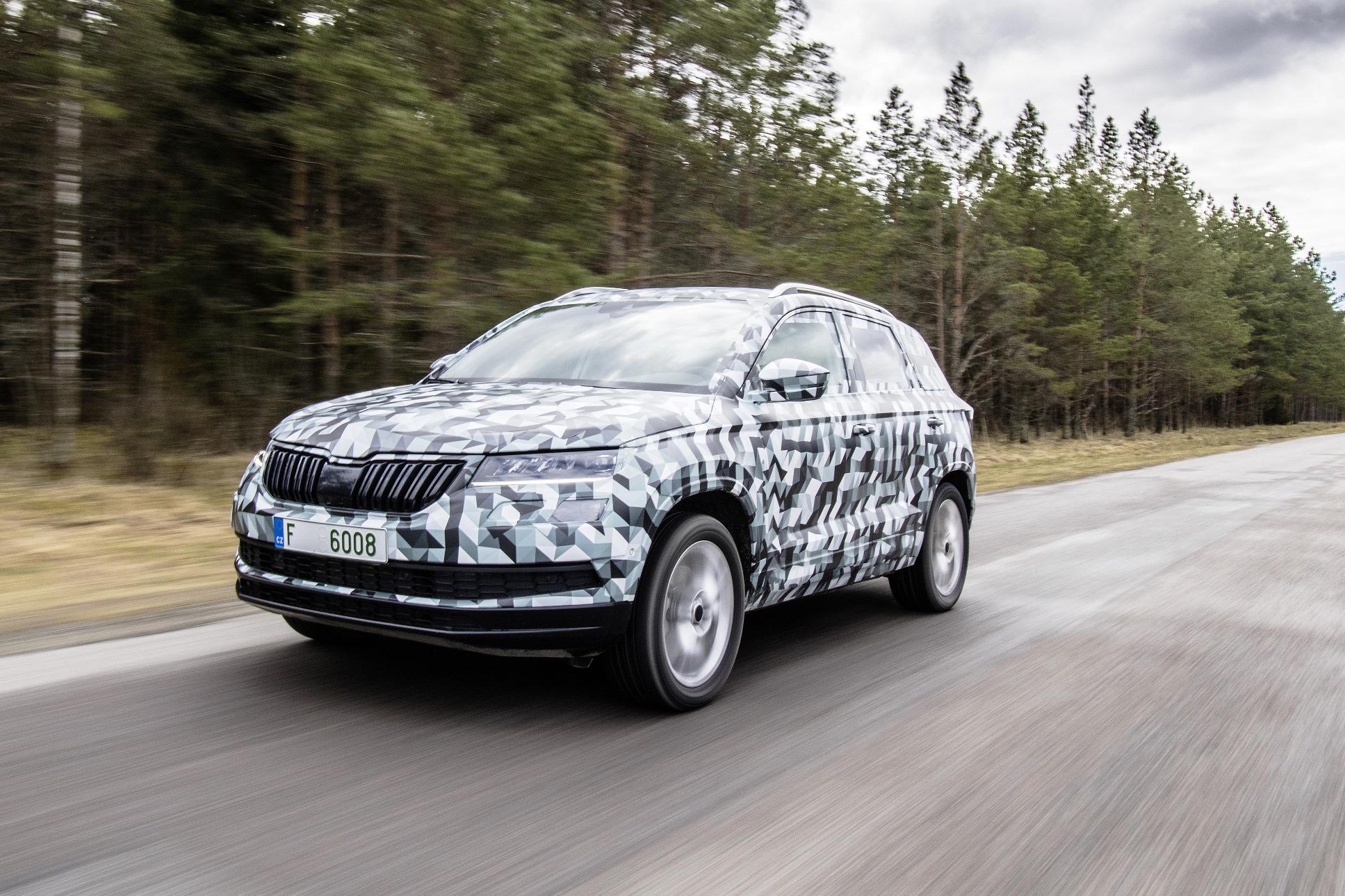 El Skoda Karoq será el nuevo SUV compacto de la marcha checa