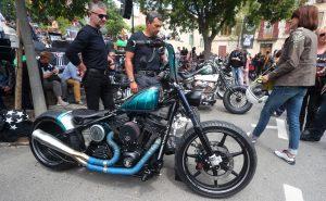 Custom Bike Show Euro Festival 2017.