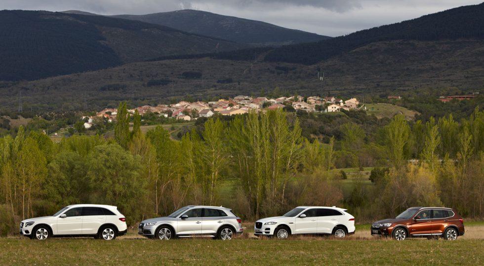 Los cuatro SUV 'premium' que media Europa desea (II): prueba completa