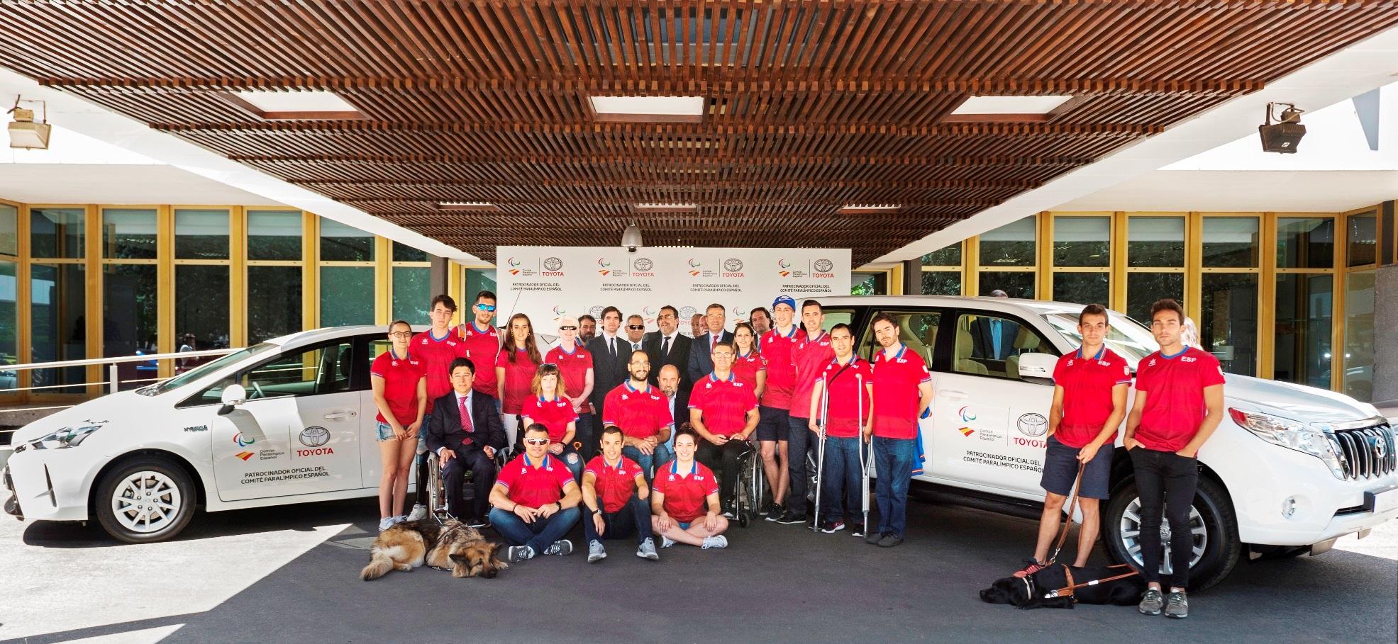 Toyota, nuevo patrocinador del Comité Paralímpico Español