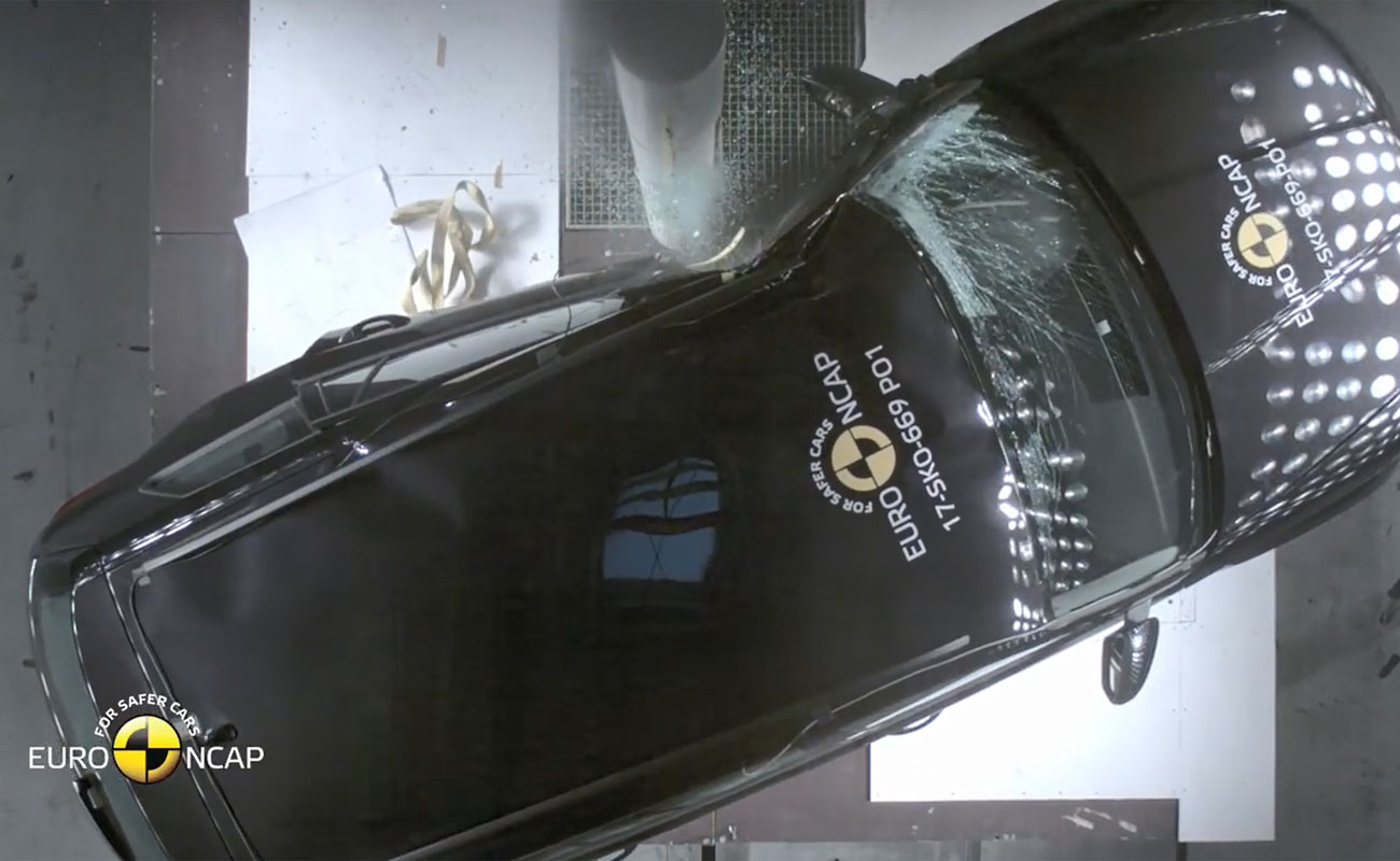 Así responde ante un accidente uno de los SUV más deseados