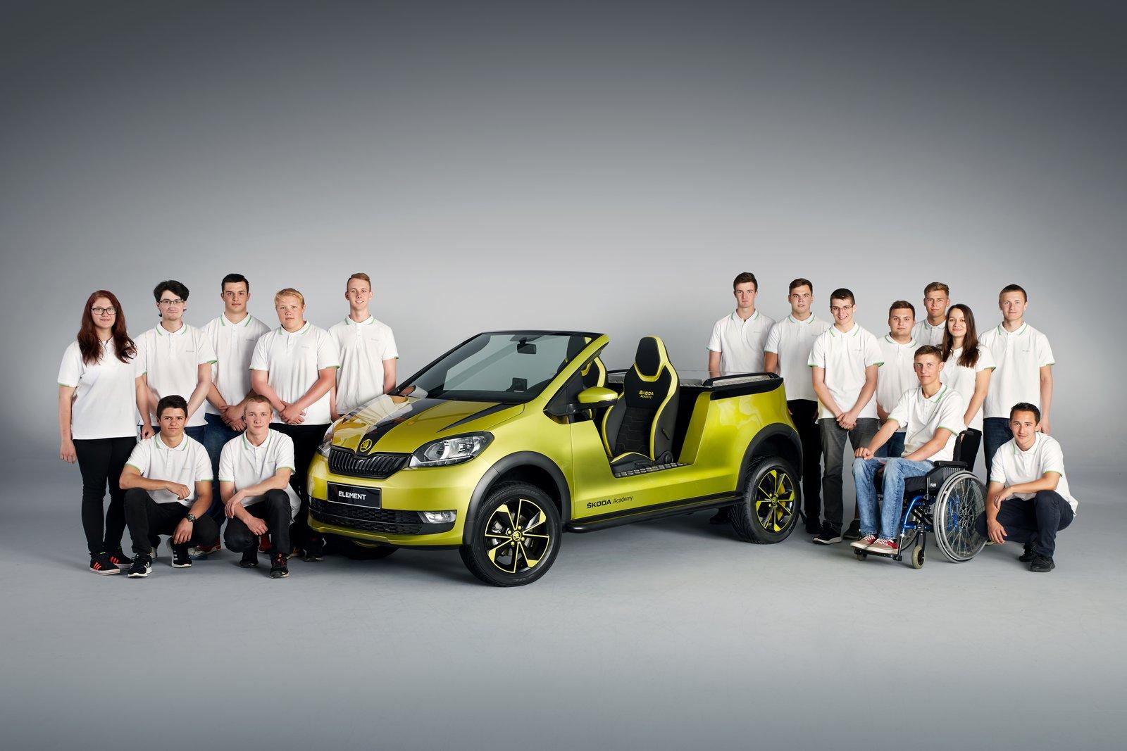 El Skoda Citigo se convierte en buggy eléctrico