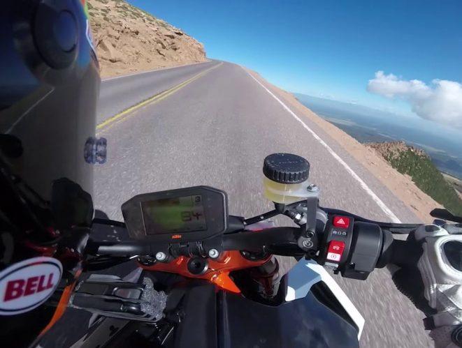 KTM Super Duke 1290 R Pikes Peak