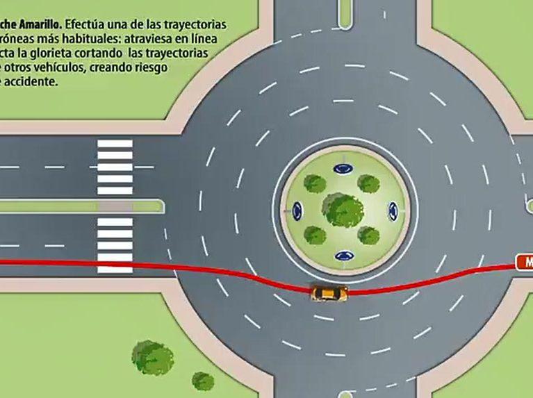 La Guardia Civil lo intenta de nuevo: así se toma una rotonda