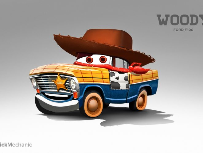 Woody: Ford F100