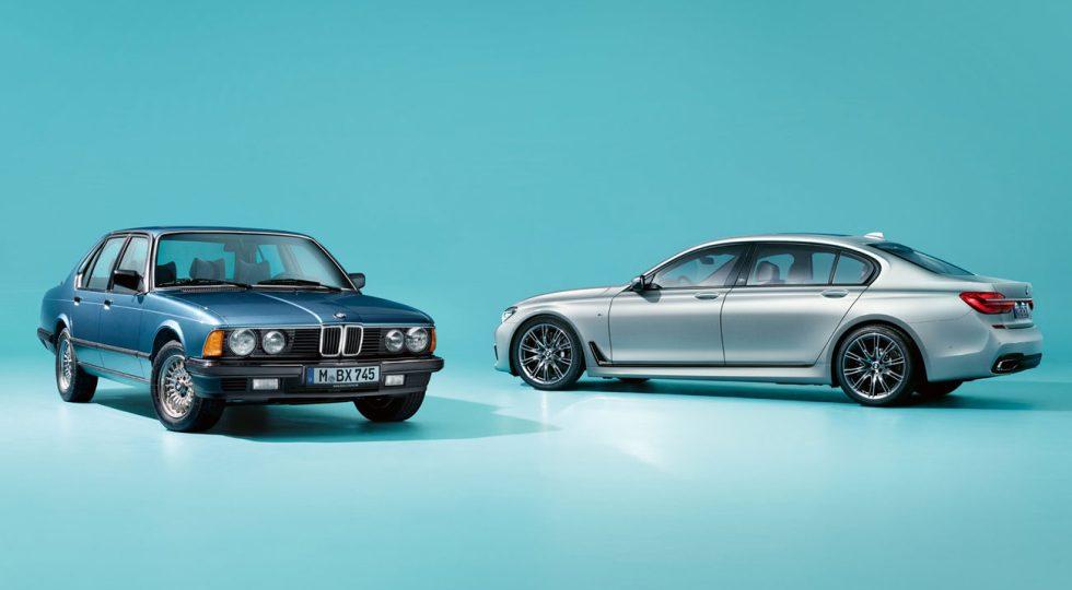 BMW Serie 7 Jahre