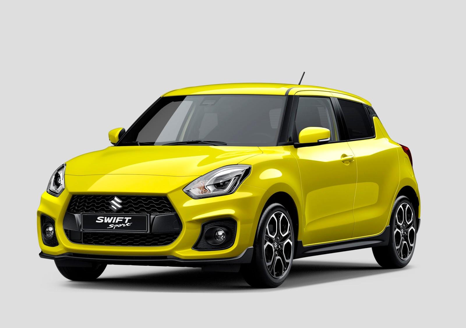 Así es el nuevo Suzuki Swift Sport 2018