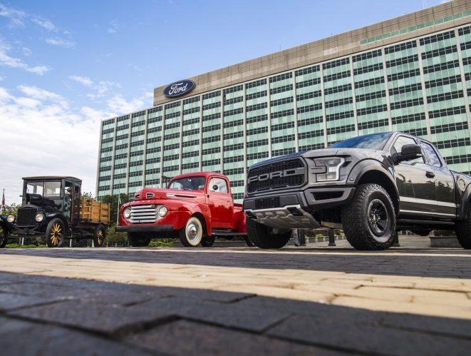 Ford 100 años pick-ups