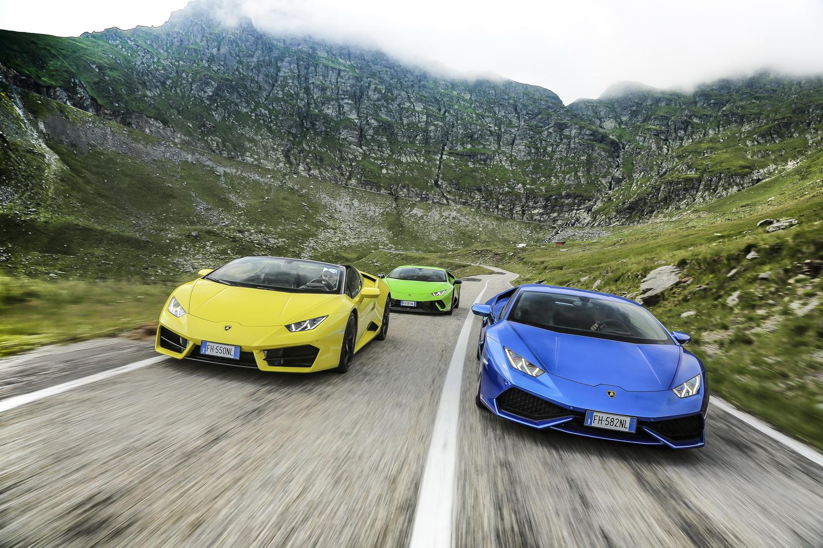 Lamborghini coches autonomos