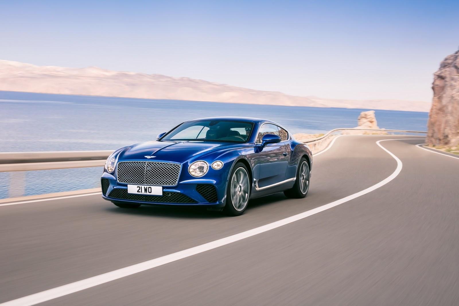 El Bentley Continental GT eleva al máximo el lujo y la deportividad
