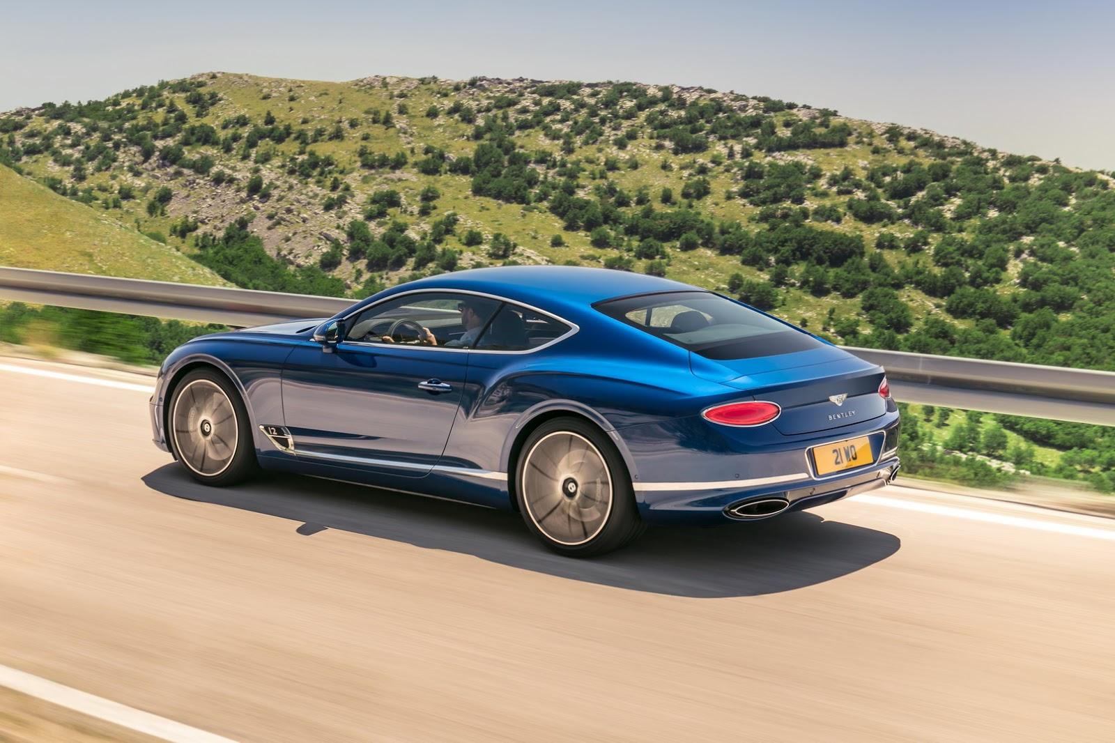 El Bentley Continental GT es el rey de los Gran Turismo