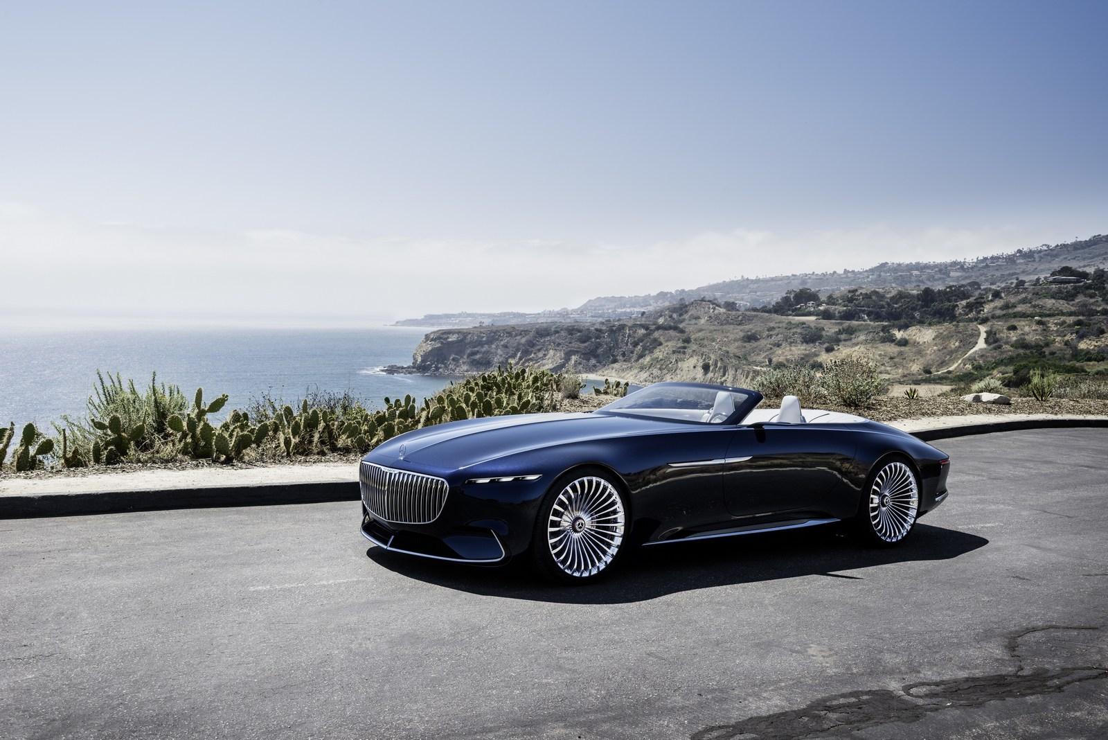 Vision Mercedes Maybach 6 Cabriolet Concept
