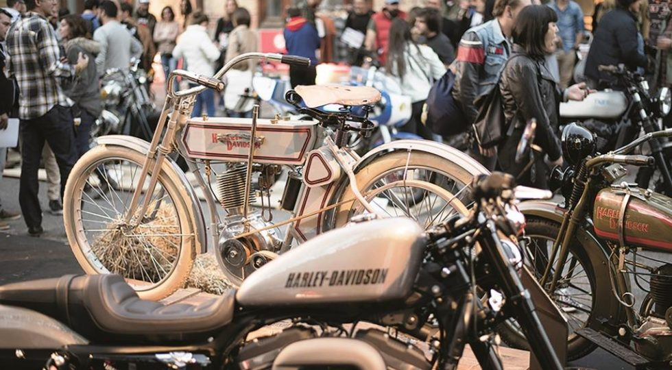 'Oldies but Goldies', cuando la moto se transforma en arte