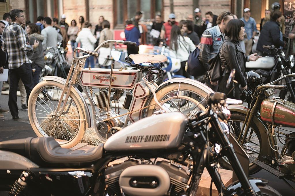 'Oldies but Goldies', cuando la moto se transforma en arte