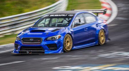 Este Subaru WRX STI es el sedán más rápido en Nürburgring