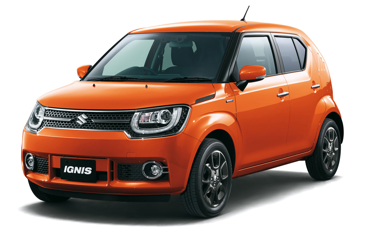 Suzuki Ignis coches urbanos 2017