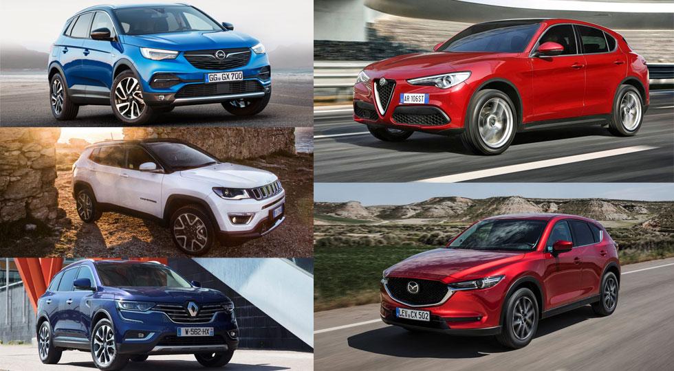 ¿Dirías que estos cinco SUV son realmente seguros?