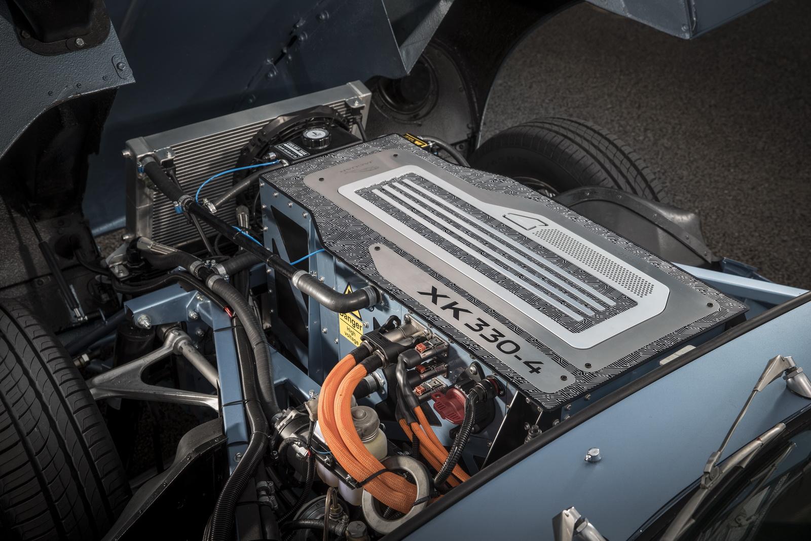 Jaguar E-Type Zero, un eléctrico 100% llegado de 1968