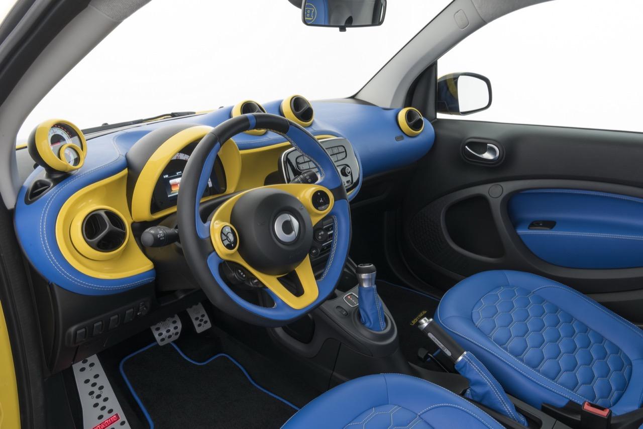 Un Smart que acelera más que un Porsche 911