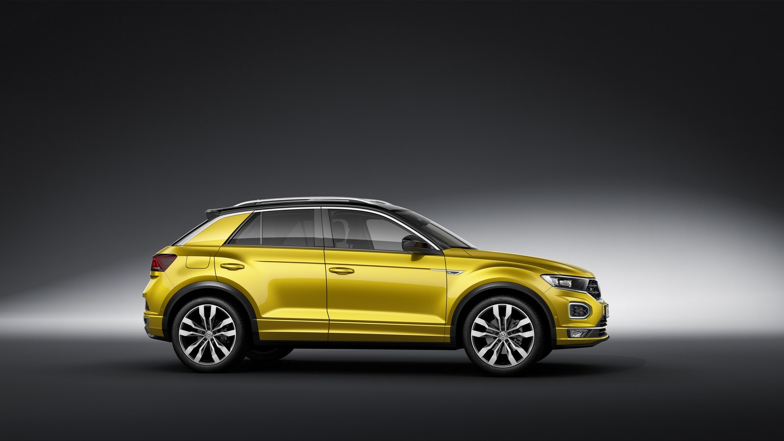 volkswagen t roc r line dinamismo para el suv compacto. Black Bedroom Furniture Sets. Home Design Ideas