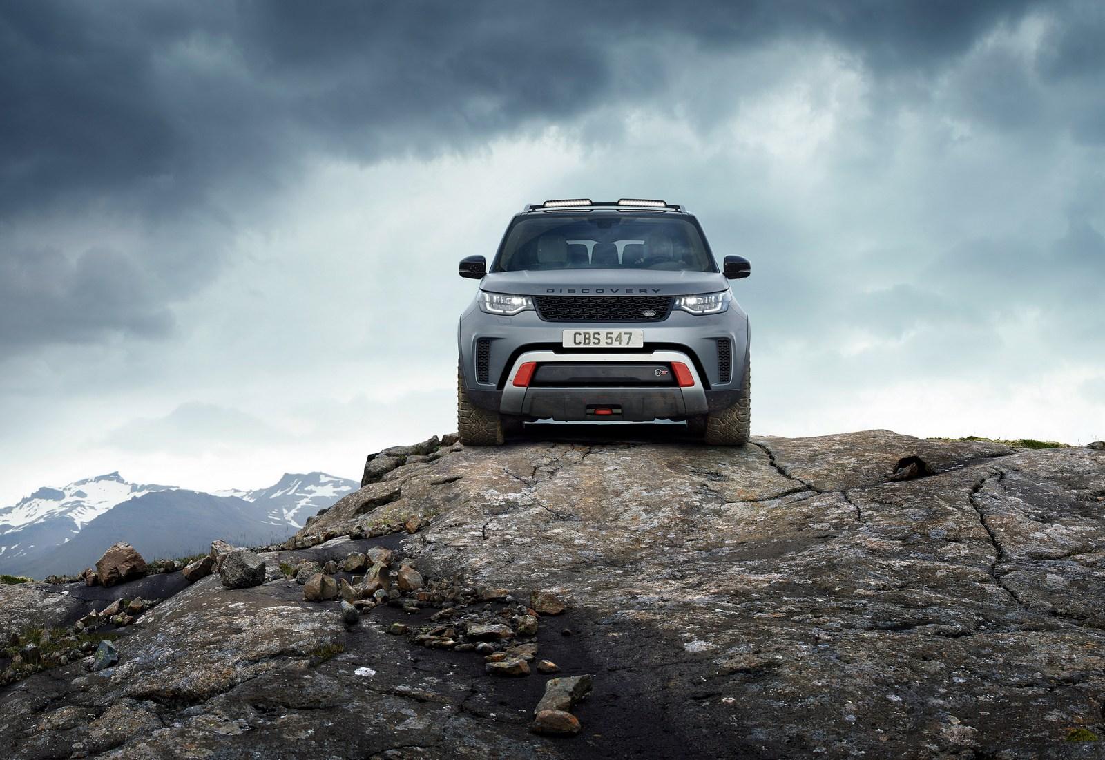 Land Rover Discovery SVX, el más potente y capaz de la historia
