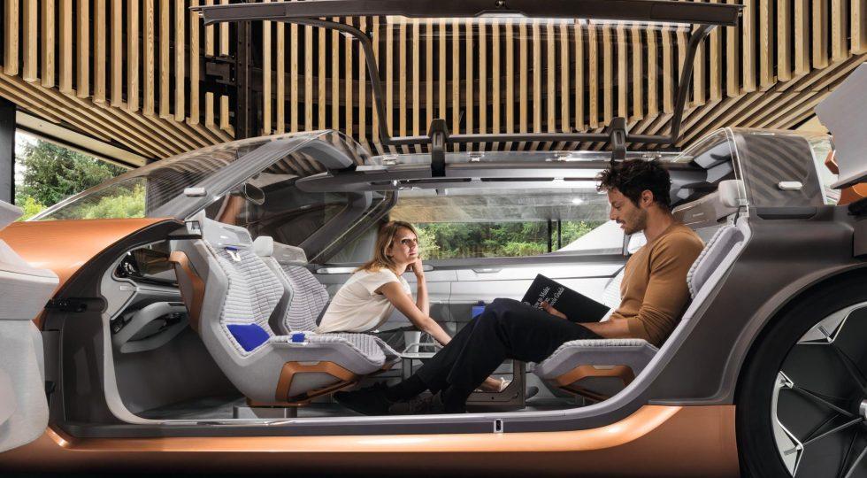 Renault SYMBIOZ: una vivienda dentro de un coche