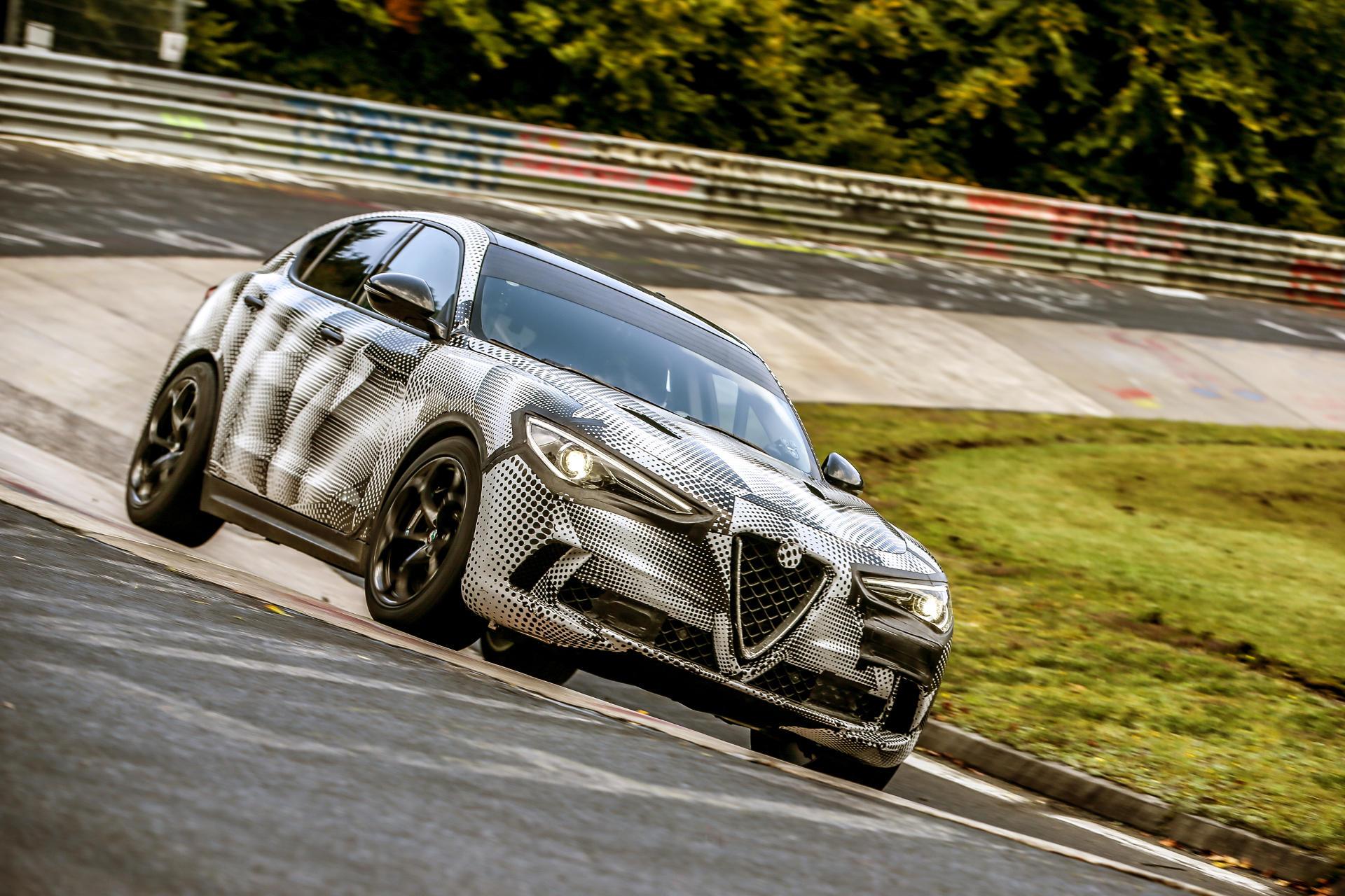 Vídeo: el Alfa Romeo Stelvio es el SUV más rápido del mundo