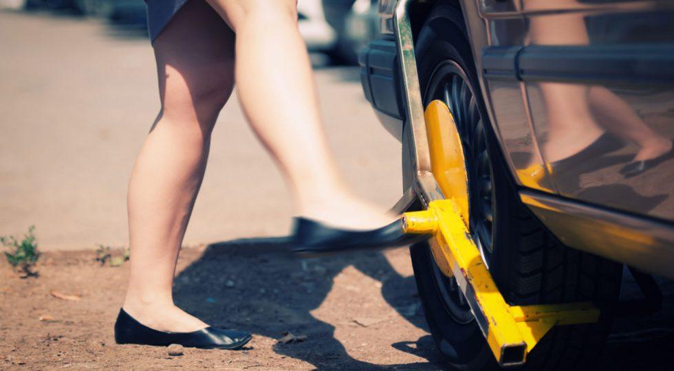inmovilizar coche