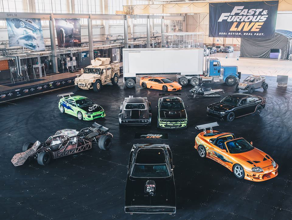 Fast & Furious Live: a todo gas dentro de un estadio