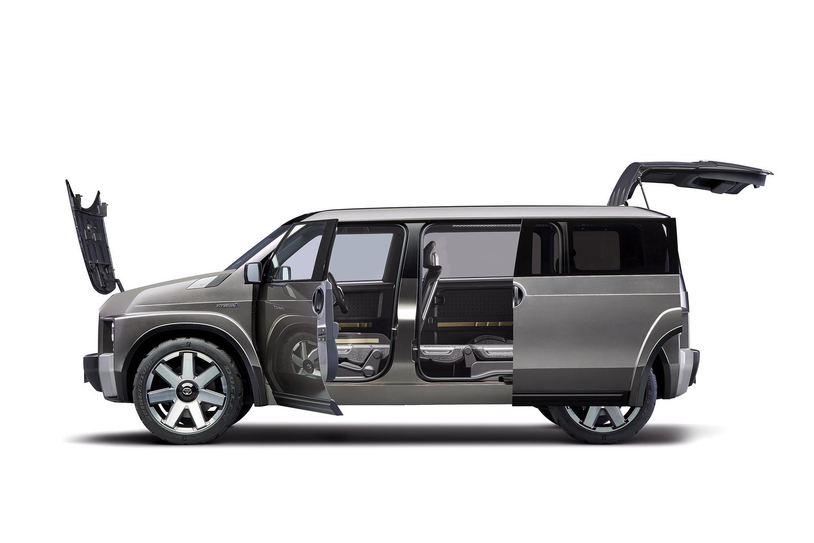 Toyota TJ Cruiser: ¿el futuro de los monovolúmenes?