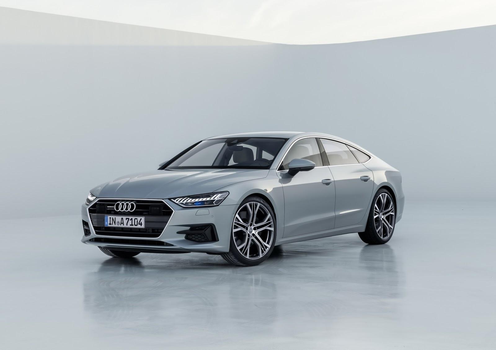 Toda la tecnología del nuevo Audi A7, desde 76.860 euros
