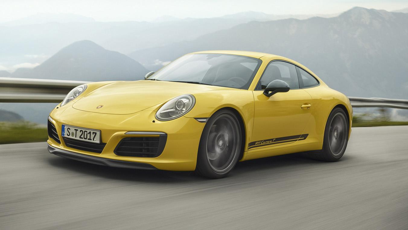 El Porsche 911 Carrera T se centra en satisfacer al conductor
