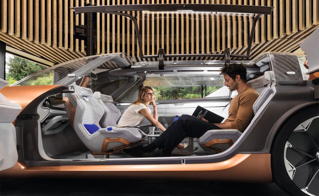 Este es el futuro: electricidad, salones sobre ruedas y chóferes virtuales