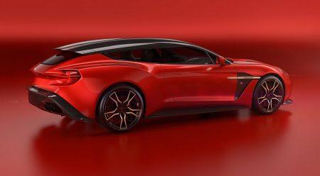 Vanquish Zagato Shooting Brake, la 'ranchera' biplaza de Aston Martin