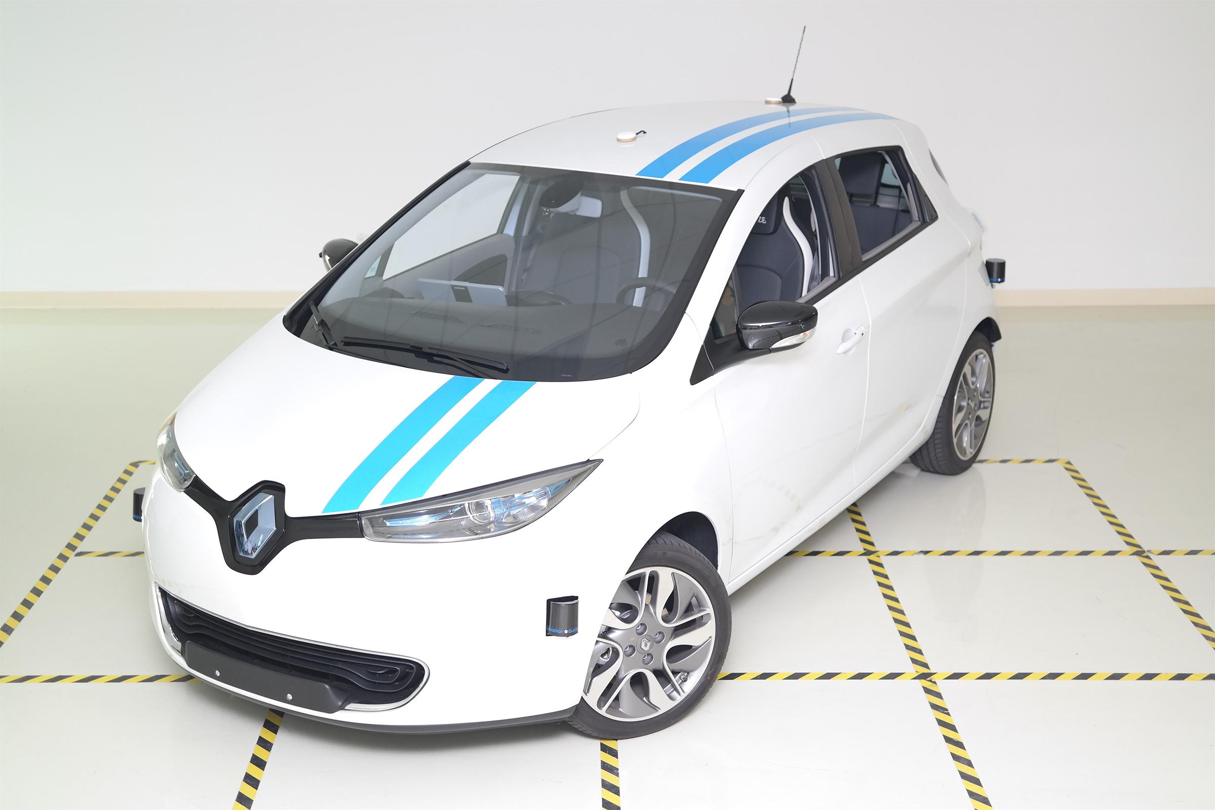 El Renault Zoe autónomo hace esquivas como un profesional