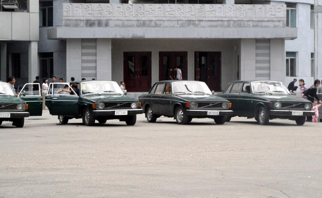 coches Corea del Norte