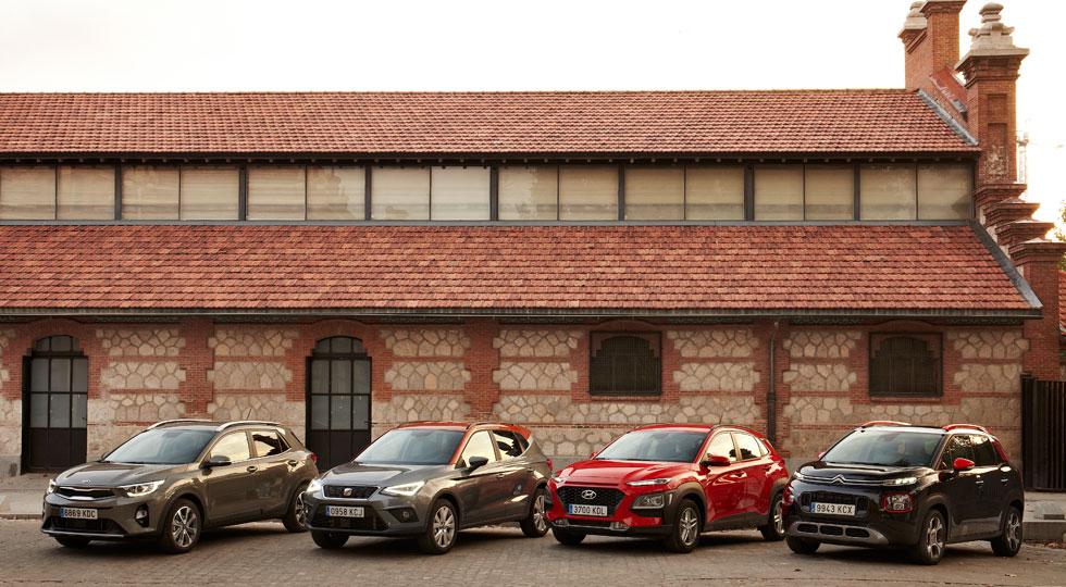 Los cuatro SUV pequeños que van a dar un vuelco al mercado