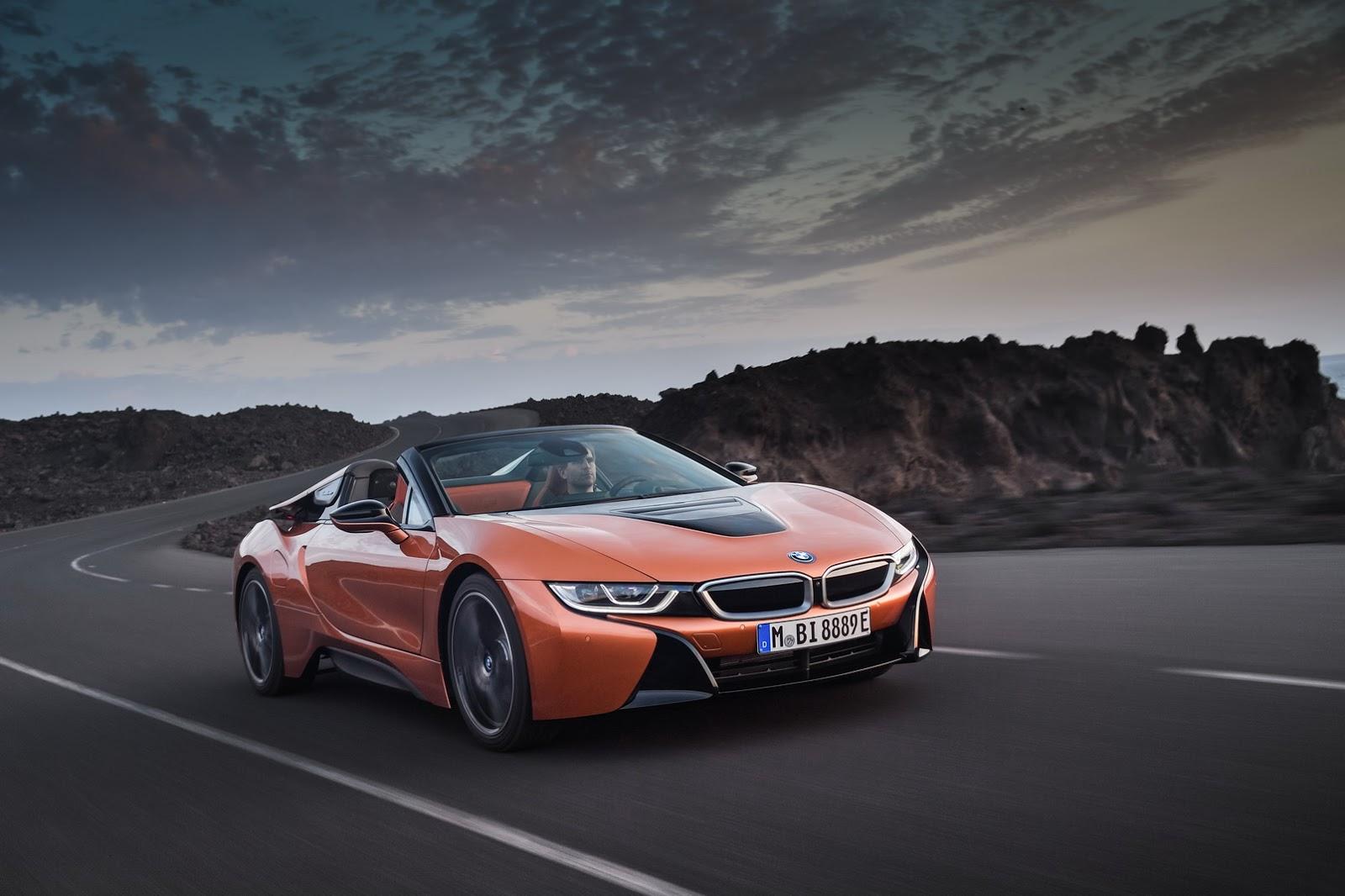 BMW i8 Roadster: más, mejor… y además descapotable