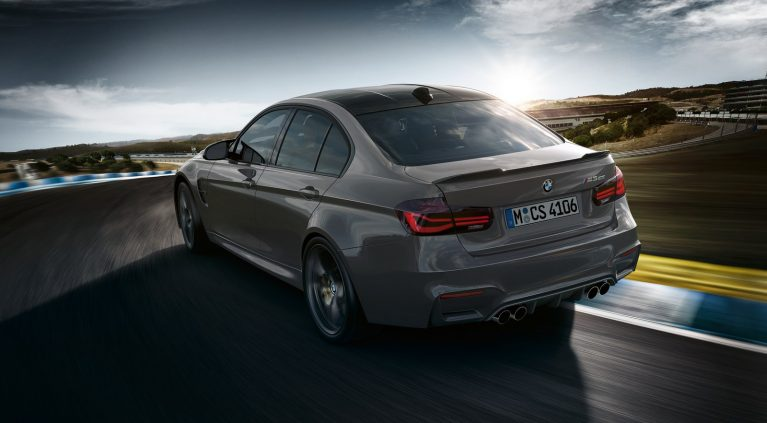 Las imágenes del BMW M3 CS