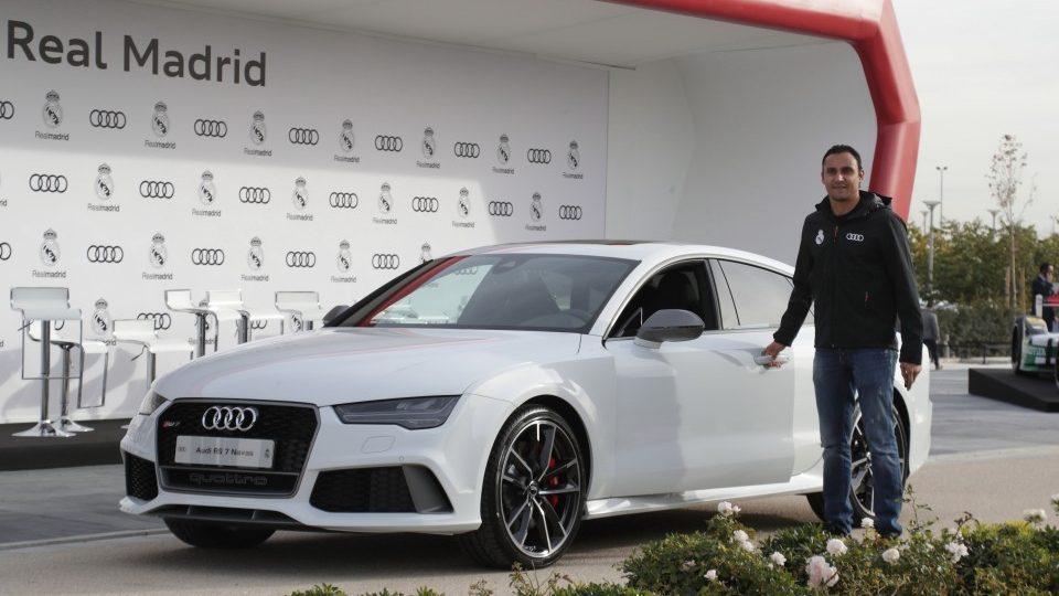 Keylor Navas: Audi RS 7