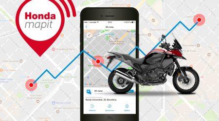 Las Honda, siempre localizadas con la tecnología de Mapit
